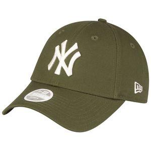 New Era 9Forty Damen Cap - New York Yankees oliv army grün
