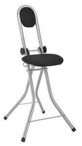 Steh und Sitzhilfe Stehstuhl Bügelstuhl höhenverstellbar mit 4 Einstellungen