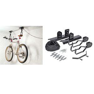 HI Fahrradlift Metall   Schwarz