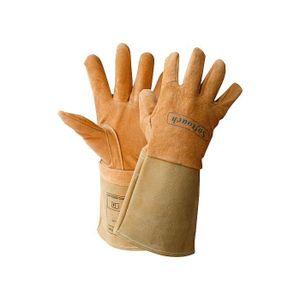 WELDAS 10-1003 Schweißer-Schutzhandschuhe Softtouch Schweißerhandschuhe Größe:9
