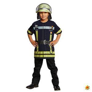 Spielshirt Feuerwehrmann für Kinder, Größe:116
