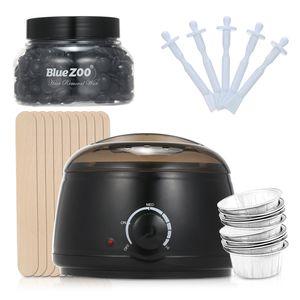 Wax Warmer Haarentfernungsset Wachsheizung Wachsbohnen-Enthaarungsmaschine fuer Armbeinruecken