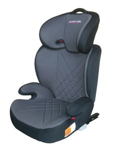 X-Adventure Junior Autositz/Kindersitz/Isofix 15-36 Kilo/Gruppe 2 + 3 grau