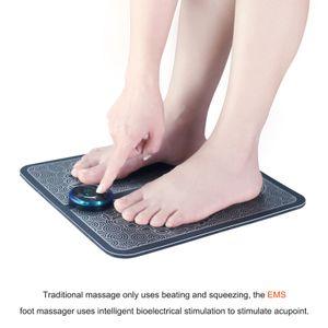 EMS Fußmassagegerät Fussmassagematte Matte Elektrisches Bein Fussmuskelstimulator Massagegeraet Druckentlastung Schmerzlinderung Fussentspannend Blutkreislauf Fussmassagegeraet Pad