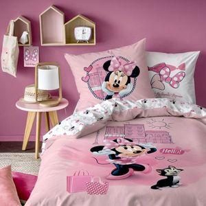 Bettwäsche Disney Minnie Mouse Downtown 80 x 80 cm / 135 x 200 cm