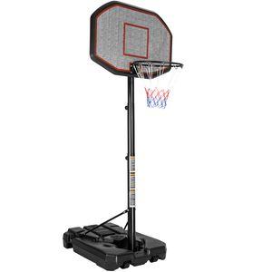 tectake Basketballkorb - schwarz