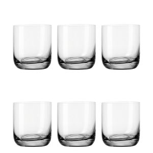 Leonardo Daily WH Becher 6er Set Wasserglas Trinkglas Saftglas Trinkbecher 300ml