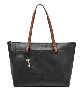 Fossil Handtasche Tasche Shopper Rachel Tote Leder Schwarz ZB7507-001