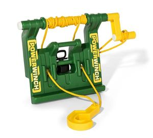 Seilwinde für Tretfahrzeug rolly Powerwinch grün - Rolly Toys