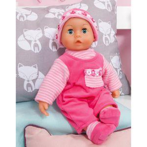 Bayer Design Babypuppe First Words pink 38 cm, BD93800-P