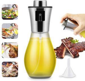 Ölsprüher 304 Edelstahl auslaufsicherer Ölsprüher Kochen Glasflaschen Spender Küche Kochen Backen Grillen Werkzeug