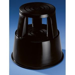 Soennecken Rollhocker 3619 mit 3 Gleitrollen schwarz
