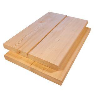 Terrassendielen Massivholz Sibirische Lärche 2,8x14x350 cm 4-er Pack