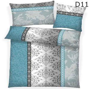 Dreamhome 2 teilige Microfaser warme Winter Thermo Fleece Bettwäsche 135x200 Kissenbezug 80x80, Design - Motiv:Design 11
