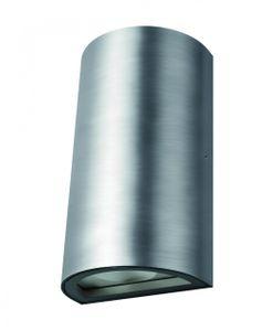 LEDVANCE ENDURA STYLE UPDOWN LED Wandleuchte Warmweiß 16 cm Aluminium Aluminium