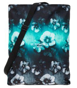 Turnbeutel Kinder Elephant Hero Signature Attach Bag Sportbeutel Schultergurt 12802 Flower Türkis-Schwarz Verlauf