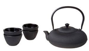 Cosy & Trendy Teekanne mit 4 Tassen 1,2 Liter