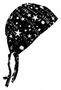 Bandana Kopftuch Mond + Sterne, Bandana Headscarf Moon + Stars, Bandana pañuelo Luna y Estrellas