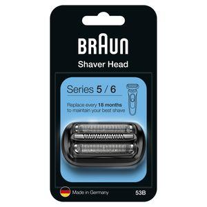Braun Series 5 53B Elektrorasierer Ersatzscherteil – schwarz