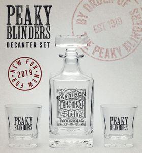 GB eye Peaky Blinders Dekanter Set GYE-GLS0001