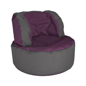 Sitzsack Bebop Scuba 85 x 65 cm,  Aubergine Bebop