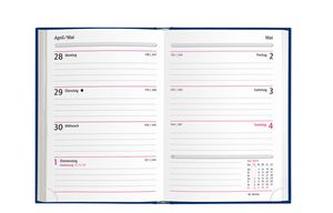 herlitz Taschenkalender Folie 2021 zufällige Farbe 105 x 145 mm A6 (1 Stück)