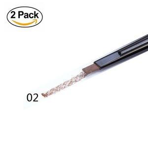 SR MAKEUP Eyebrow Pencil 2Stk wasserfester Augenbrauenstift Augen Stift Makeup