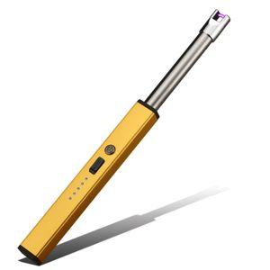 Elektrisches Feuerzeug USB BBQ Plasma Lichtbogen Stabfeuerzeug | Gold