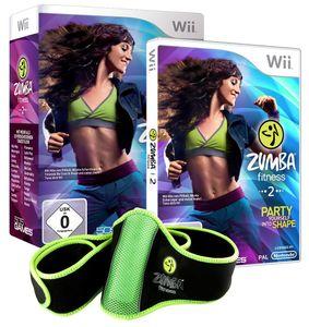 Zumba Fitness 2 inkl. Hüftgürtel