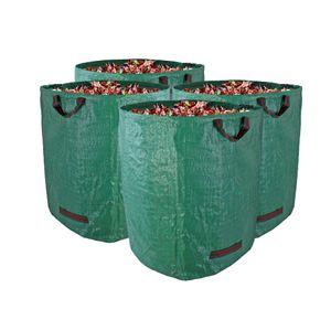 Gartenabfallsack Stabil Gartensack 272 Liter 4 Stück