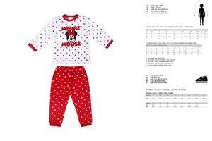 Schlafanzug Für Kinder Minnie Mouse 12 Monate