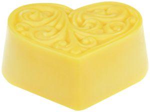 Bodycremeherz Sanddorn 80g, natürliche Hautpflege mit Bio Sheabutter, Naturkosmetik, Body Butter