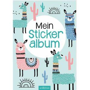 ars Edition Mein Stickeralbum - Lamas