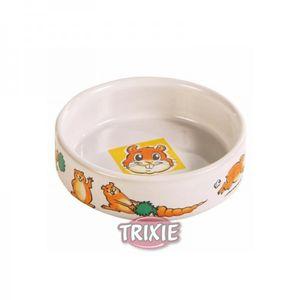 Trixie Keramiknapf Motiv Hamster weiß 90 ml  /ø 8 cm