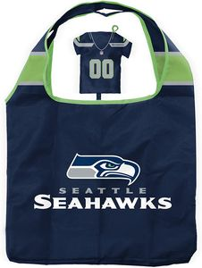 NFL Seattle Seahawks Einkaufsbeutel Shopping Bag Tasche Trikotform