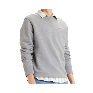 Levis Herren Sweatshirt NEW ORIGINAL CREW, Größe:XL, Farben:0002-chisel grey heath