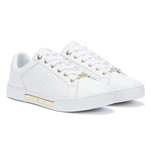 Tommy Hilfiger Sneaker Low MONOGRAM ELEVATED SNEAK Weiß Damen