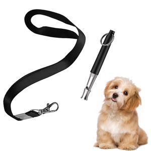 Hundepfeife Hochfrequenz Lautlos, Professionelle Einstellbare Ultraschall Hunde Pfeife Lanyard für Hundetraining