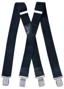 Hosenträger X From breit  schwarz