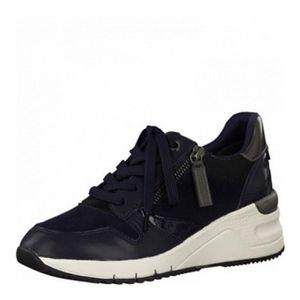 Tamaris Sneaker Low Blau Damen