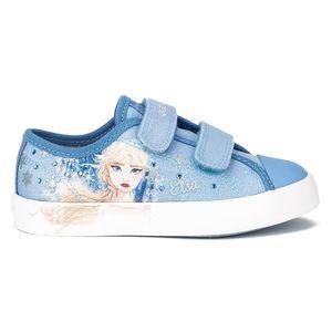 Geox Kinder Halbschuhe Sneaker Textil hellblau 29