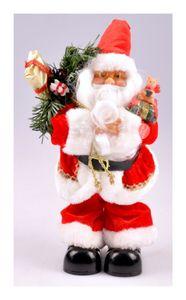 Singender Weihnachtsmann Nikolaus Santa Claus Weihnachtsdeko Weihnachtsfigur