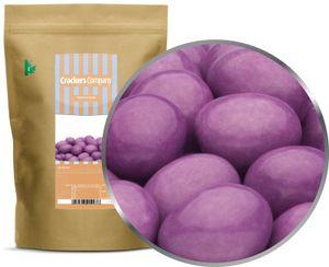 Purple Choco Peanuts - Erdnüsse in Vollmilchschokolade Lila - ZIP Beutel 750g