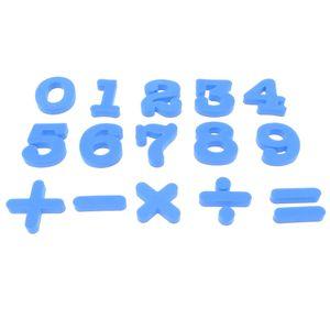 26pcs Alphabet Tiere Kühlschrankmagnet Whiteboard Aufkleber Kinder Pädagogisches Spielzeug Farbe Blau