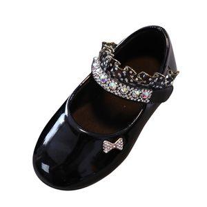 Kleinkind Kinder Baby Mädchen Schuhe Crystal Princess Schuhe Solid Casual Schuhe Größe:31,Farbe:Schwarz