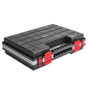Sortimentskasten Kunststoff Sortimentsbox NORS16DUO Rot Sortierbox