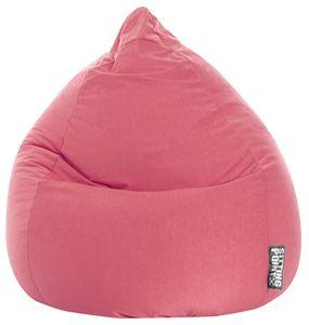 Sitzsack BeanBag Easy XL 110 x 70 cm,  Pink