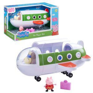 Flugzeug | Spielset | Peppa Wutz | Peppa Pig | mit Figur Peppa & Reisekoffer
