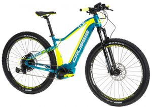 "29 Zoll Elektrofahrrad MTB E-Bike Modell e-Fionna 11,6 CRUSSIS 2021 625Wh 16,7Ah Motor Bosch 250W 85Nm Rahmenhöhe 17""(43,2 cm) Türkis/Gelb"