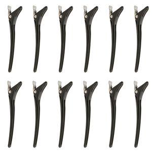 12 Stü Friseur Abteilklammern Abteil Clip Klammern Haarklammern Haarclips
